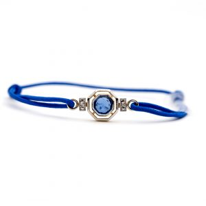 bracelet Or gris - bijou ancien