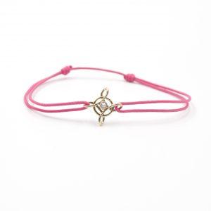 bracelet Or Jaune - bijou ancien - perle